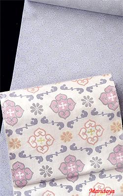 更紗小紋と名古屋帯