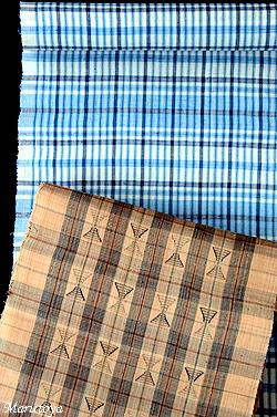 八重山苧麻織と芭蕉布