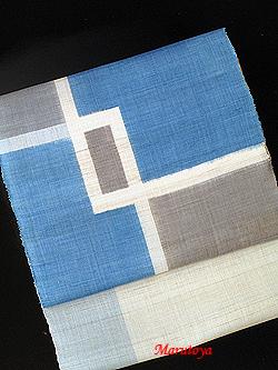 新垣幸子 絣織の八重山上布