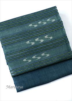 八重山上布 板花織