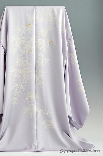 真糊糸目と京刺繍の絵羽コート