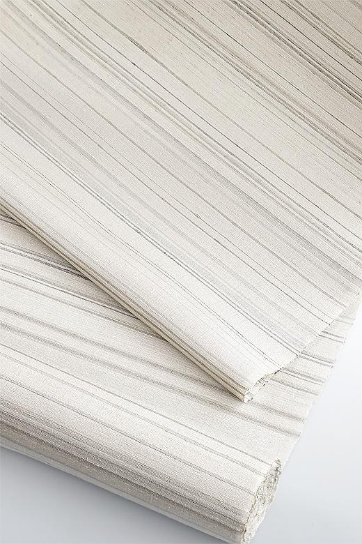 草木染め手織紬:越後緯段織