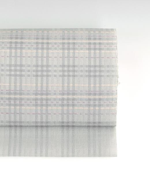 夏季 単衣/薄絹:下井紬九寸名古屋帯