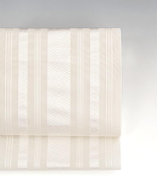 博多織 紗献上八寸/白色(オフホワイト)