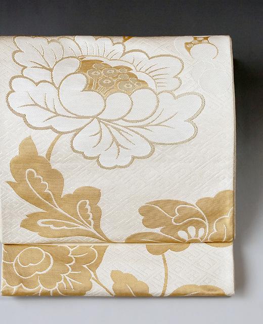 洛風林:袋帯/牡丹唐草