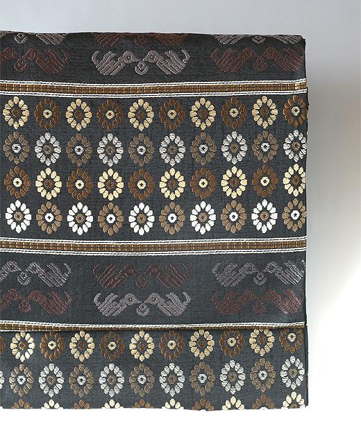 洛風林:袋帯/名物いちご裂