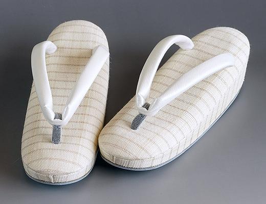 夏季のお履物/麻素材 丸舟型草履