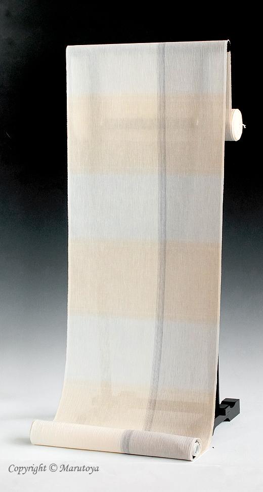 綿麻のお着物