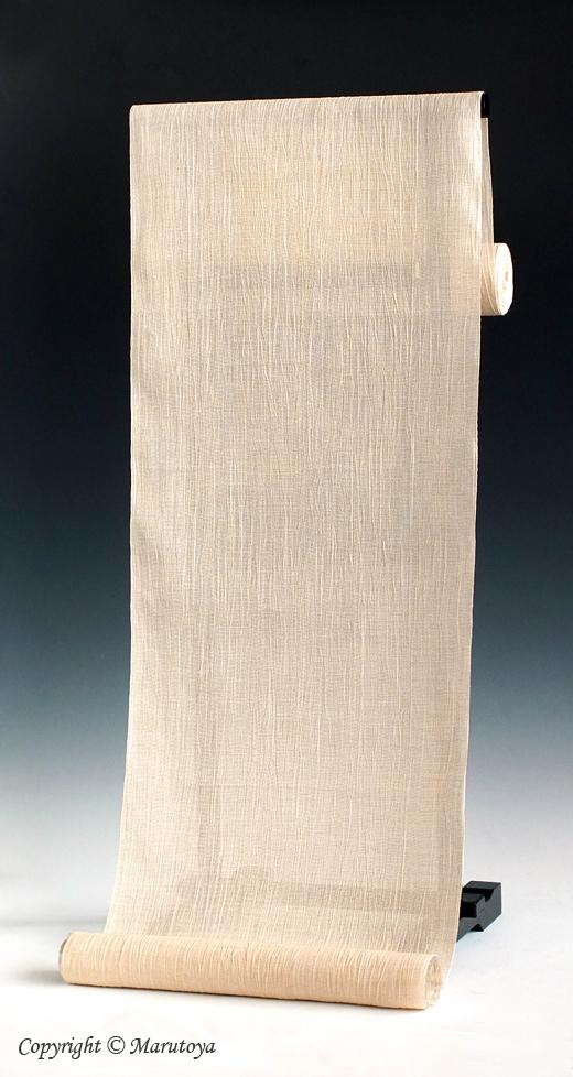 近江ちぢみ 麻の着物