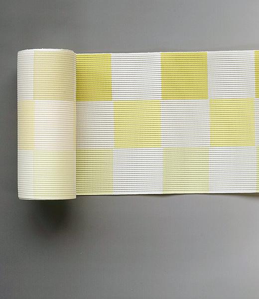 博多織 半巾帯:風通織市松