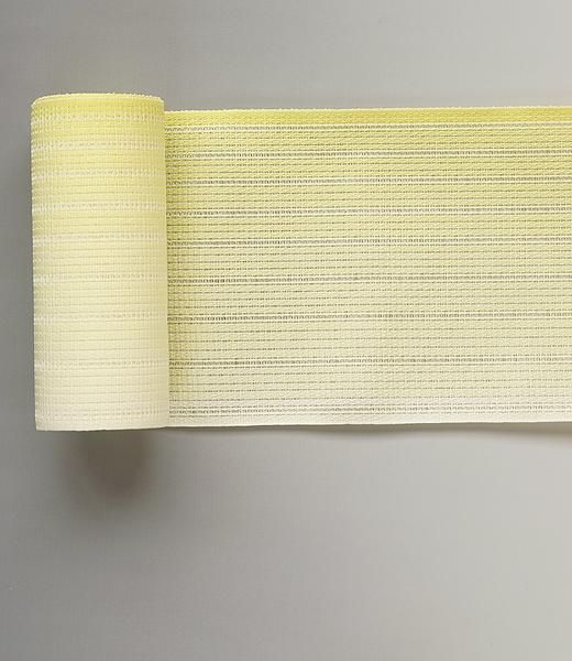 博多織 半巾帯:紗ぼかし織 (粗紗)