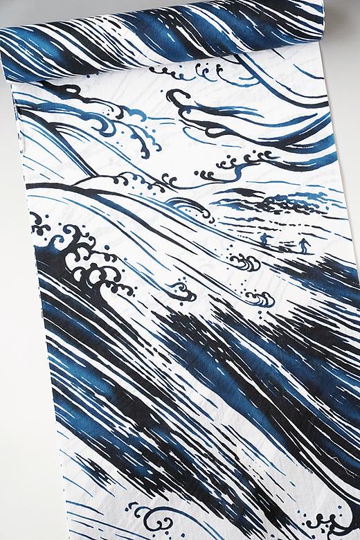 誉田屋源兵衛:ゆかた サーフィン(晴天)