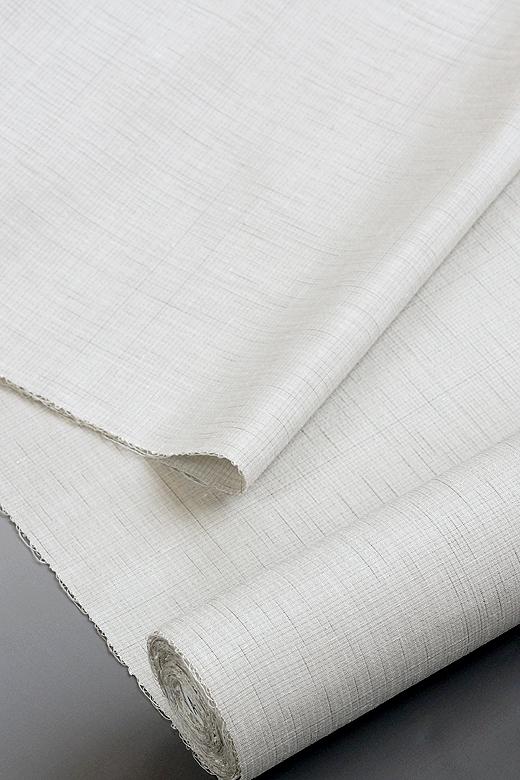 草木染め手織紬/ばらと団栗