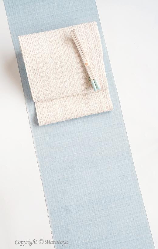 北川弘繪 草木染め手織 木綿