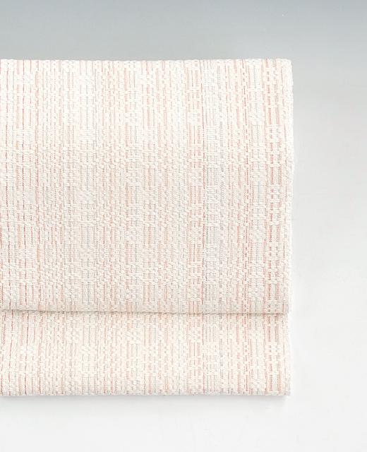 北川弘繪 制作:草木染め綿織 八寸名古屋帯