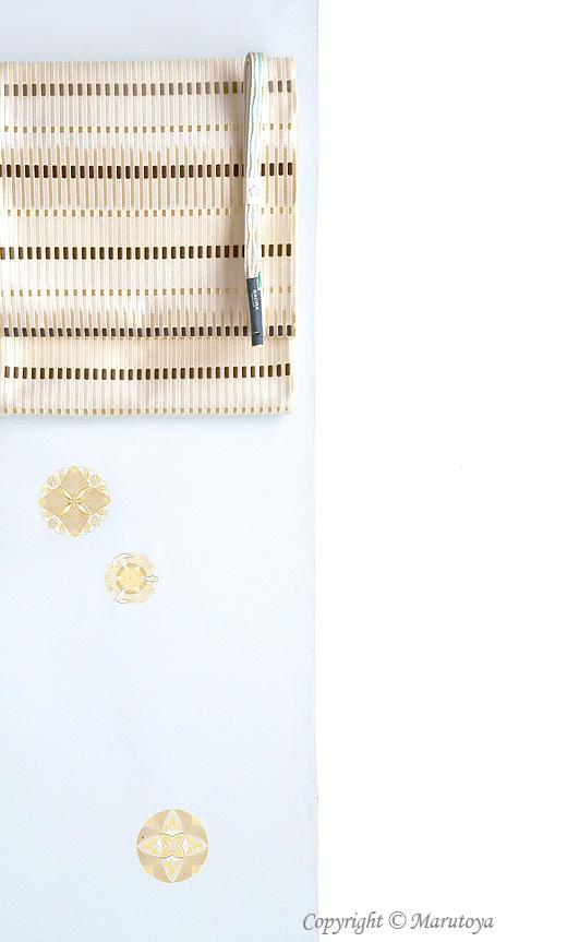 美術工芸 啓 袋帯:『献上彩縅』
