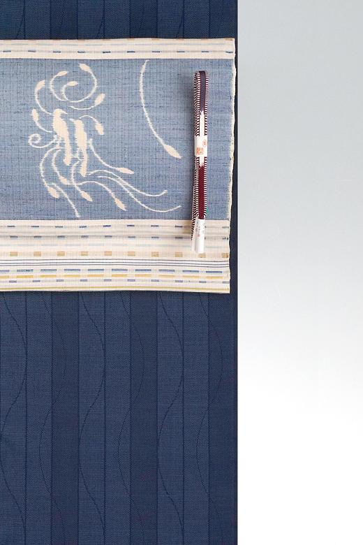 手織紬と工芸帯地展