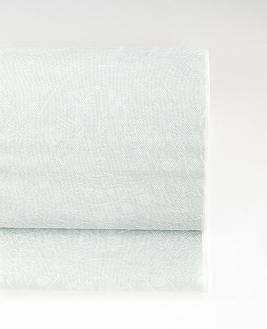夏季 単衣:穀紗九寸名古屋帯/天馬円文