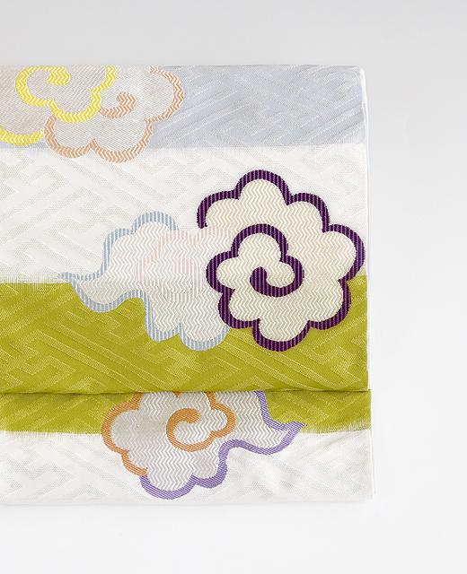 洛風林:袋帯『紗綾型飛雲文』